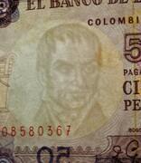50 pesos de oro -  avers