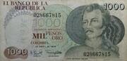 1000 Pesos – avers