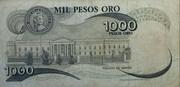 1000 Pesos – revers