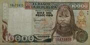 10000 Pesos Oro – avers