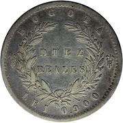 10 reales (République de Nouvelle-Grenade) – revers