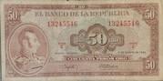50 Pesos Oro -  avers