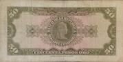 50 Pesos Oro -  revers
