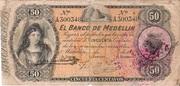 50 Centavos Medellin – avers