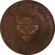 2 centavos (Bolivar, essai) – avers