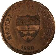 2 centavos (Magdalena, essai) – avers