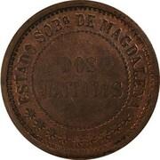 2 centavos (Magdalena, essai) – revers