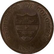 2 centavos (Santander, essai) – avers