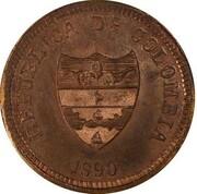2 centavos (Tolima, essai) – avers