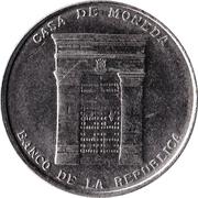 Casa de la Moneda – revers