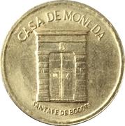 Casa de Moneda Bogotá – revers