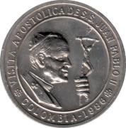 John Paul II Pastoral Visit Medal – avers