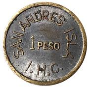 1 Peso - San Andres Isla – avers
