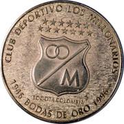 Médaille - Club Deportivo Los Millonarios (50ème anniversaire) – avers