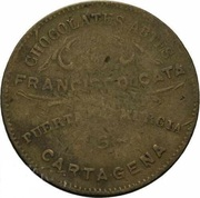 Médaille - Cartagena Chocolates Artes – revers