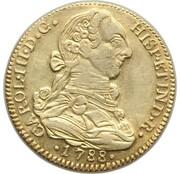 4 Escudos - Carlos III – avers