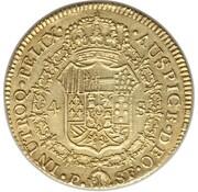 4 Escudos - Carlos III – revers