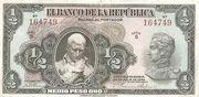 ½ Peso Oro – avers