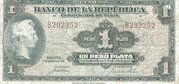 1 Peso Plata – avers
