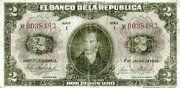 2 Pesos Oro -  avers