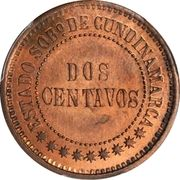 2 centavos (Cundinamca, essai) – revers