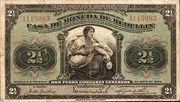 2½ Pesos (Overprint) – avers