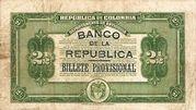 2½ Pesos (Overprint) – revers