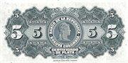 5 Pesos Plata – revers