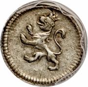 ¼ Real - Carlos IV – avers