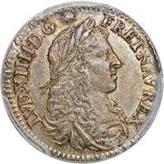5 sols - Louis XIV – avers