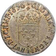 5 sols - Louis XIV – revers