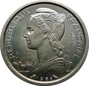 1 franc (Essai) -  avers