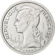 2 francs (Essai) -  avers