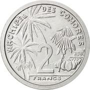 2 francs (Essai) -  revers