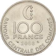 100 francs (FAO) – revers