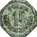 1 Franc (Société Anonyme Token Coinage) – revers