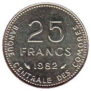 25 francs (FAO) -  revers