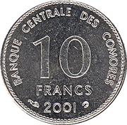 10 francs  (2ème type) – revers