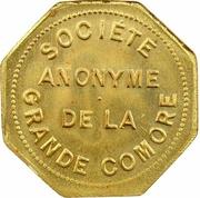 1 Franc (Société Anonyme Token Coinage; Brass) – avers