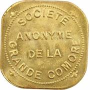 2 francs (Société anonyme de la Grande Comore) – avers