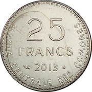 25 francs (3e type) – revers