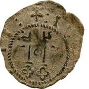 Denier - Jules II - Comtat Venaissin (Avignon) – avers