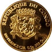 100 Francs (Mont Saint Michel) – avers