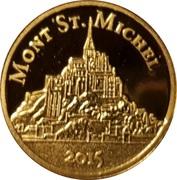 100 Francs (Mont Saint Michel) – revers