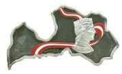50 Francs (Lettonie) – revers