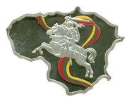 50 Francs (Lituanie) – revers