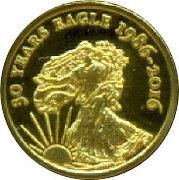 100 Francs / Liberty – revers