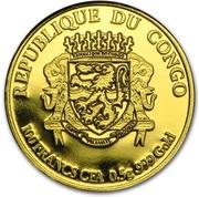 100 Francs CFA (Merry Christmas) – avers
