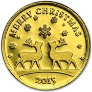 100 Francs CFA (Merry Christmas) – revers