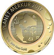 100 Francs CFA (Mercure) – revers